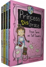 Princess Disgrace 4 Books Set Collection By Lou Kuenzler by Lou Kuenzle