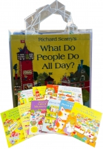 Richard Scarry's Best Collection Ever 10 Books Set by Richard Scarry