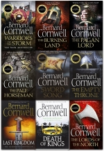 Bernard Cornwell The Last Kingdom Series 10 Books Collection Set by Bernard Cornwell