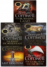 Bernard Cornwell Warrior Chronicles The Last Kingdom Series 1 Books Set Collection Pack by Bernard Cornwell