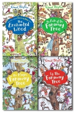 Enid Blyton The Magic Faraway Tree Collection 4 Books Set New Cover by Enid Blyton