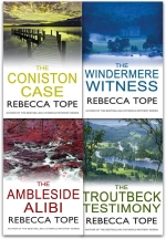 Rebecca Tope Lake District Mysteries Collection 4 Books Set by Rebecca Tope