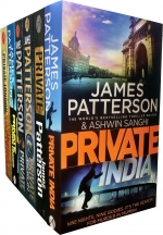 James Patterson Collection Private Series 6 Books Set by James Patterson