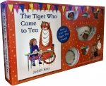 The Tiger Who Came to Tea -Classic Book and Tea Set Gift Pack by Judith Kerr