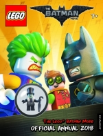 LEGO BATMAN MOVIE: Official Annual 2018 - FREE LEGO TOY and Book Features Cool Comic Strip Stories, With Puzzles and Games - 9781405287623 by Egmont