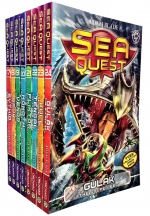 Sea Quest Series 5 and 6 Collection Adam Blade 8 Books Box Set (Book 17-24) by Adam Blade