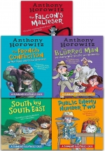 Diamond Brothers Detective Agency Collection By Anthony Horowitz 5 Books Set by Anthony Horowitz