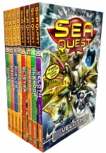 Sea Quest Series 7 and 8 Collection Adam Blade 8 Books Box Set Book 25-32 by Adam Blade