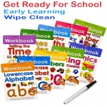Wipe-Clean Workbook Collection 10 Books Set by Roger Priddy by Roger Priddy