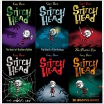 Stitch Head Collection Guy Bass 6 Books Set by Guy Bass