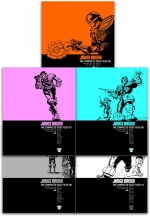 Judge Dredd Complete Case Files Volume 6-10 Collection 5 Books Set - Series 2 - By John Wagner by John Wagner