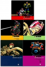 Judge Dredd Complete Case Files Volume 11-15 Collection 5 Books Set - Series 3 - By John Wagner by John Wagner