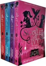 Scarlet and Ivy Collection 5 Books Box Set By Sophie Clever (Lost Twin, The Whispers in the Walls, The Dance in the Dark, The Lights Under the Lake) by Sophie Cleverly