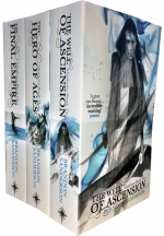 The Mistborn Trilogy Collection 3 Books Box Set Pack - The Hero Of Ages, The Well Of Ascension, The Final Empire by Brandon Sanderson