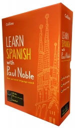 Learn Spanish with Paul Noble Collins 12 CDs, Booklet, Collection Box Set by Paul Noble