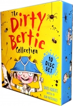 The Dirty Bertie Audio Collection 10 CDs Box Set Pack By David Roberts and Alan Macdonald by