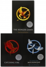 The Hunger Games Trilogy Collection Suzanne Collins 3 Books Set By Suzanne Collins by Suzanne Collins