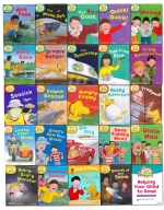 Oxford Reading Tree Read With Biff Chip Kipper Collection 25 Books Set Level 4-6 by Roderick Hunt , Alex Brychta