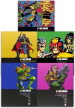 Judge Dredd Complete Case Files Volume 21-25 Collection 5 Books Set - Series 5 - By John Wagner by John Wagner
