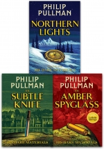Philip Pullman His Dark Materials 3 Books Collection Set NEW Cover by Philip Pullman