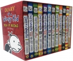 Diary of a Wimpy Kid Collection 12 Books Set by Jeff Kinney by Jeff Kinney