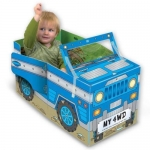Miles Kelly Convertible Four-Wheel Drive 3 in 1 Book Playmat and Toy for kids by Amy Johnson