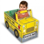 Miles Kelly Convertible School Bus 3 in 1 Book Playmat and Toy for Children by Amy Johnson