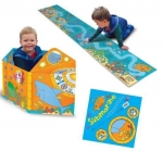Miles Kelly Convertible Submarine 3 in 1 Book Playmat and Toy for Children by Claire Phillip