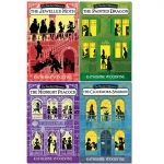 Katherine Woodfine The Sinclairs Mysteries 4 Books Collection Set - The Midnight Peacock, The Painted Dragon, The Clockwork Sparrow, The Jewelled Moth by Katherine Woodfine