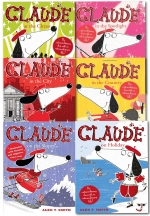Claude Series Collection 6 Books Box Set by Alex T Smith Claude in the City Claude on Holiday Claude at the Circus Claude in the Country by Alex T Smith