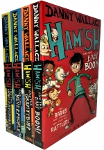 Danny Wallace Hamish Collection 4 Books Set Hamish and the World Stoppers Hamish and the Neverpeople Hamish and the GravityBurp by Danny Wallace