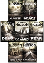 Charlie Higson The Enemy Series 7 Books Collection Set The Enemy The Dead The Fear The Scarifies the Fallen The Hunted The End by Charlie Higson