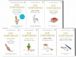 Sue Townsend Adrian Mole 8 Books Collection Set by Sue Townsend
