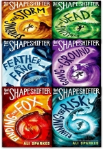 Ali Sparkes Shapeshifter Collection 6 Books Set Pack Feather and Fang Finding the Fox Running the Risk Going to Ground Stirring the Storm by Ali Sparkes