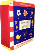 My Little Book Of Words (Animals, Birds, Colour, Fruits, Toys, Shapes, Vegetables) by Art Factory