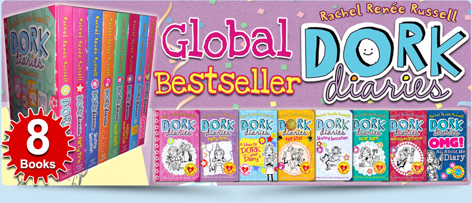 Dork Diaries Rachel Renee Russell Collection